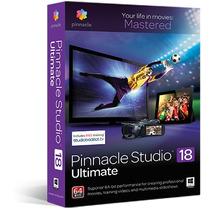 Pinnacle Studio 18 En Español Version Ultimate En 5 Dvds