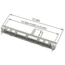 Potenciometro Fader 10kx2 P/ Mesa De Som Behringer Mx1204fx