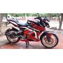 Pechera Ninja Pro. Moto Pulsar 200ns En Fibra De Vidrio