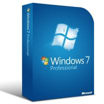 Licencia Windows 7 Pro Professional 3 Pc Sp1 32 - 64 Bits