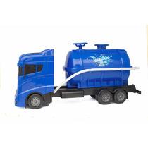 Caminhão Pipa, Caminhão De Água. Brinquedo. Jorra Água Mesmo