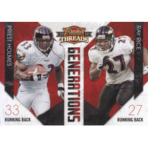 2010 Threads Generations Priest Holmes Ray Rice Rbs Ravens