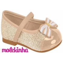 20% Off Sapatilha Boneca Molekinha Infantil Bebê 2113.102