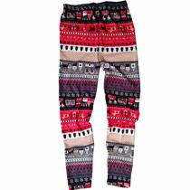 Leggins Pantalones Jeans Multicolor Diseño Inca