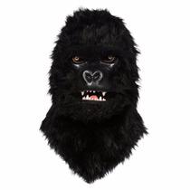 Mascara/ Fantasia Gorila Realista (eua) Mexe A Boca. No Br!