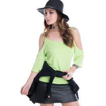 Blusa Ombro Caído - Kam Bess - Bl2648