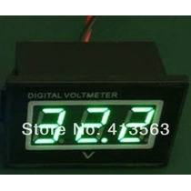 Voltímetro Digital À Prova Dágua Moto Medidor Bateria 30v