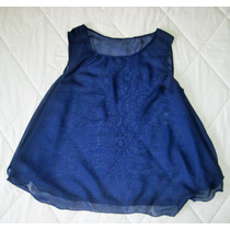 Blusa Camisa Crop Tops Blusa De Chifon De Dama Talla L