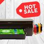 Impresora A3 Hp 7110 + Sistema Continuo De Tintas Scp