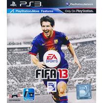 Ps3 - Fifa 2013 - Míd Fís - Lacrado - Original - Pt Br
