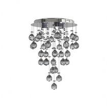 Lustre Plafon Cristal Iluminacao Led Escada Bola 401/23 New