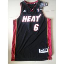 Miami Heat Camiseta Original Lebron James Talla M