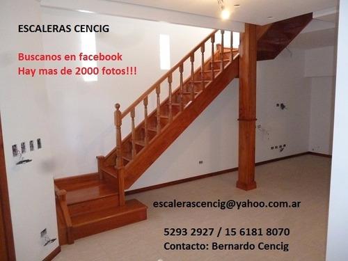 Escaleras de madera escaleras interiores revestimientos for Escaleras de madera interior precio