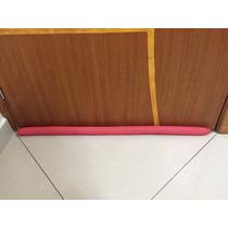 Cobra Protetor Porta Duplo Decorado Poa Vermelho Branco 80cm