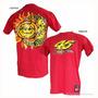 Camiseta Vermelha G Valentino Rossi Moto Gp 46 Nova Sol Lua