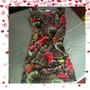 Vestidos Floreados Cortos Casuales Moda Japonesa De Coctel