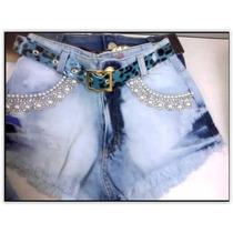 Shorts Jeans Feminino Hot Pants Panicats C/06