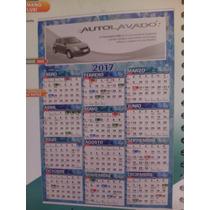 Calendario De Pared Con Varilla