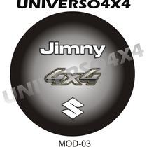Capa Estepe Jimny, Suzuki, Couro Sint, Pneu 205x70x15, M-03