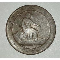 Moneda España 5 Centimos 1870 *067