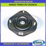 Base Amortiguador 48609-10091 Delantero Starlet 3 Tornillos
