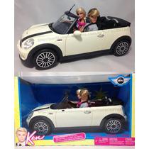 Barbie - Carro Mini Cooper Do Ken C/ Bonecos Original Mattel