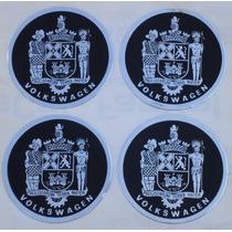 Adesivo Paulistarum Calota Volkswagen Emblema Brasão Vw