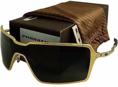 3c83e11126392 Oculos Probation Dourado Polarizado - Temos Inmate Deviation - R  129,00 em Mercado  Livre