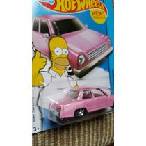 Carrito Hot Wheels Homero Hw City 2015 Los Simpson