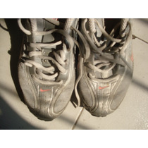 Limipia Closet Tenis Marca Nike Air Max Color Gris Talla 25