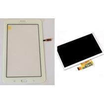 Tela Touch + Display Lcd Sm-t111 Samsung Galaxy Tab 3 Branco