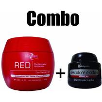 Maribel Ativador De Tons Vermelho E Pó Descolore E Colore