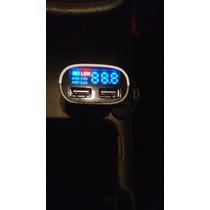 Cargador Usb Digital Para Auto