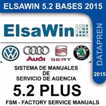 Elsawin 5.2 Plus Vw, Audi, Seat. Vehiculos Comerciales(2015)