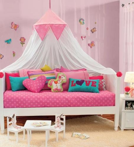 Pabellon canopy sweet para ni a vianney env o gratis for Cuartos para ninas 2 anos