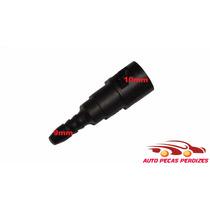 Conector Engate Rápido Gasolina Reto Interno 10mm Ext 9mm