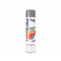 Kit C/ 6 Latas Tinta Spray Chemicolor Cor Aluminio P/ Rodas