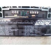 Amplificador Pyramid 5000w