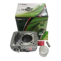 Kit 190cc Competicao Titan/fan/nxr150 Cilindro Pistao Aneis