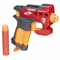 Nerf N-strike Mega Bigshock Blaster Pistola De Dardos Silvan
