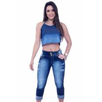Capri Jeans C/ Lycra
