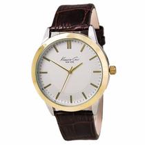 Reloj Kenneth Cole New York Hombre, Correa Cuero, Nuevo