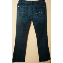 Seven For All Mankind Jeans Para Dama 28r. True, Rock & Rep.