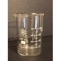 Vaso De Precipitado De 100 Ml. Material De Laboratorio