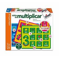 Juego Educativo Tablas De Multiplicar - Diset