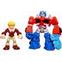 Transformers Rescue Bots Optimus Prime Y Cody Burns Hasbro