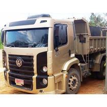 Vw 24250 Ano 2007 Truck Morto Caçamba Basculante