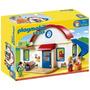 Playmobil 1,2,3 - Casa C/ Familia Figuras Y Acc. Tuni 6784