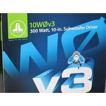 Sub Woofer Jl Audio 10w0v3 - 300 Watts