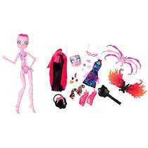 Monster High Monstruo Interior Temeroso Luchadora \ N Fangt